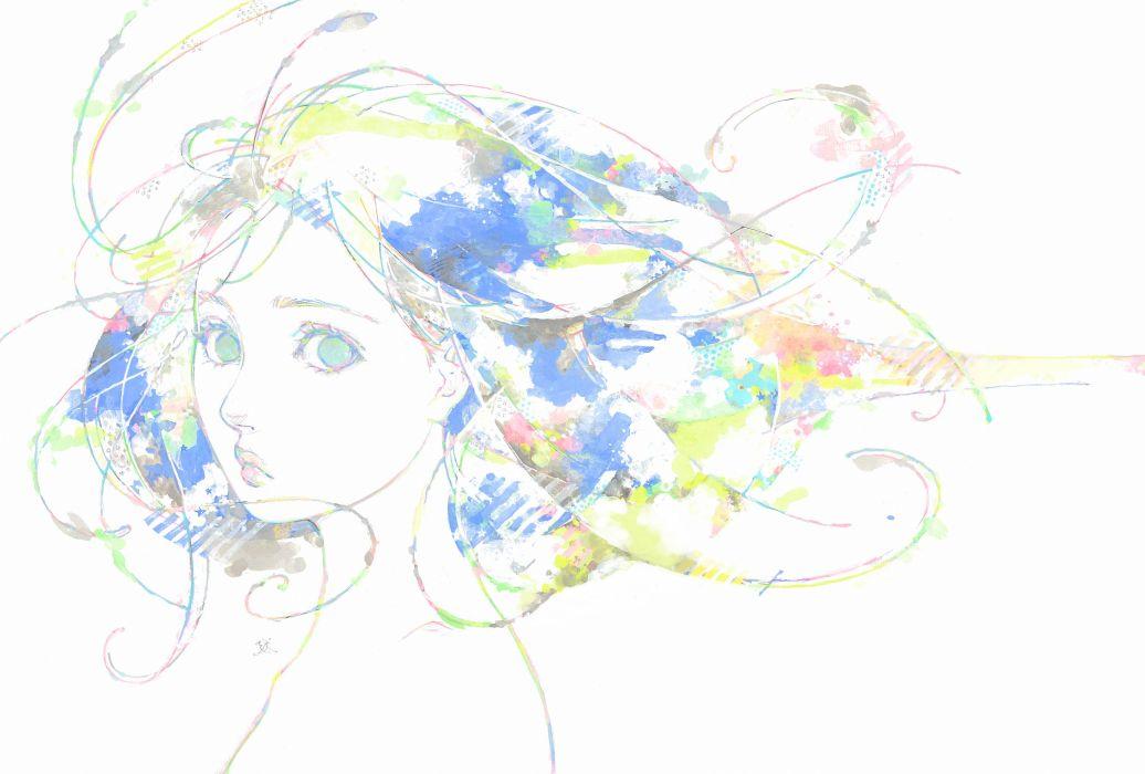 Natsuko Echizen original mood      d wallpaper