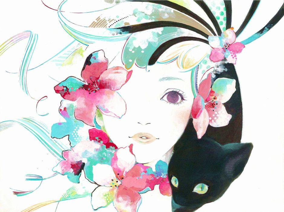 Natsuko Echizen original mood  sv wallpaper