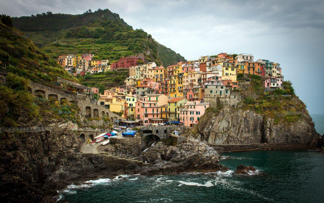 region Liguria Italy wallpaper