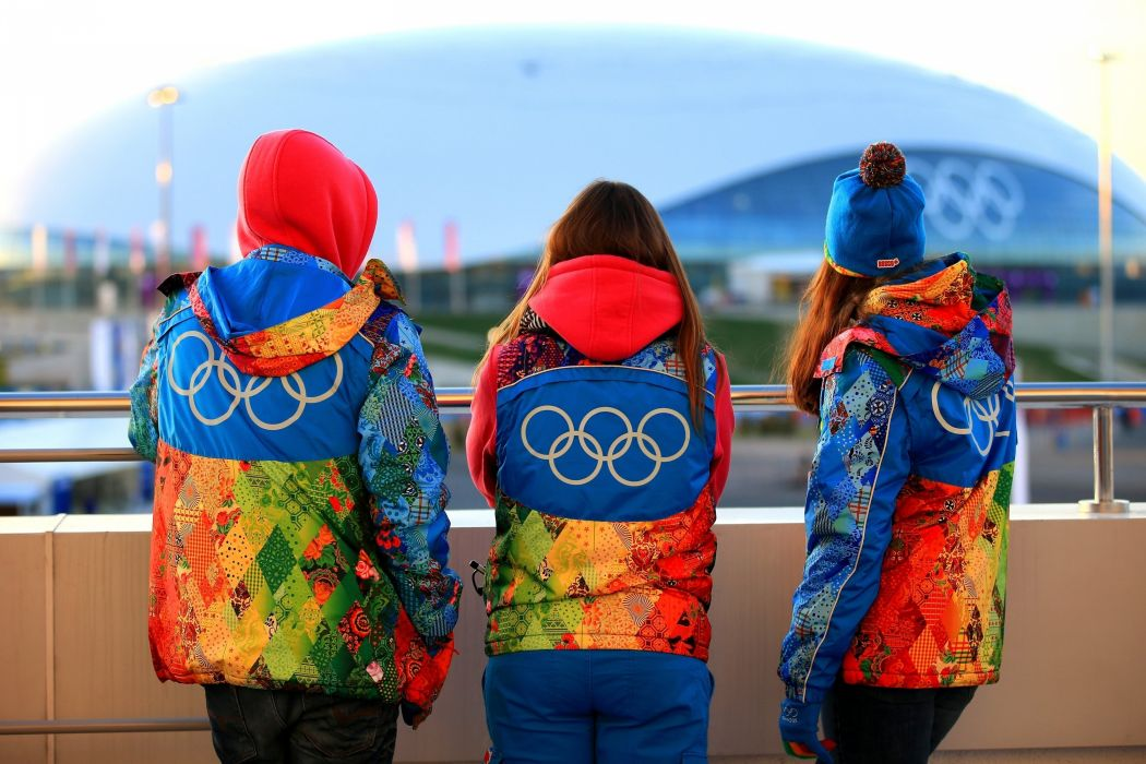 Sochi 2014 people clothing symbols olympics wallpaper
