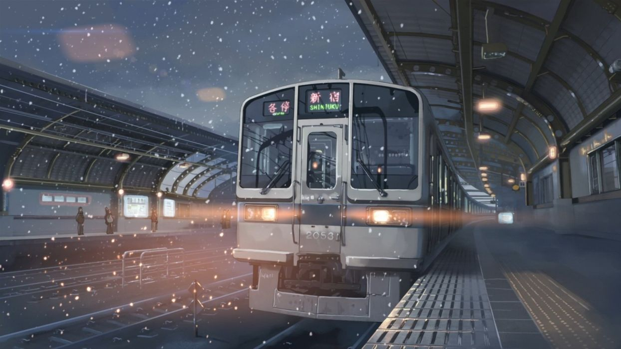 Train 5 Centimeters Per Second Wallpaper 1920x1080 294741