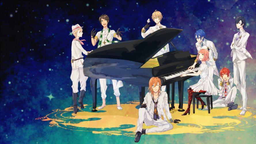 Uta no prince-sam piano wallpaper