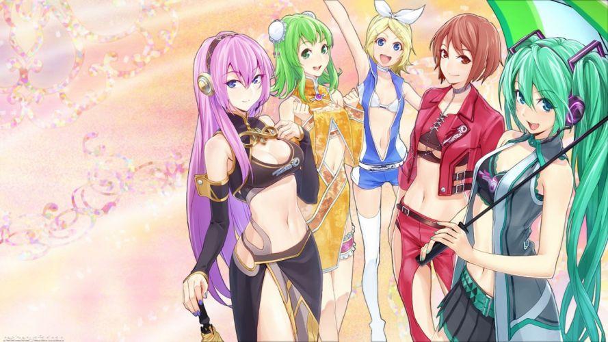 Vocaloid Headphones Anime Girls g wallpaper