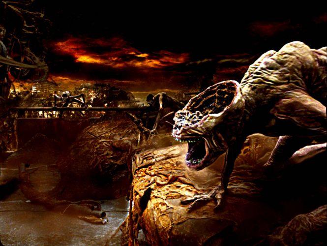 CONSTANTINE horror fantasy occult dark monster evil wallpaper