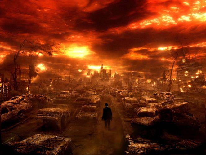 CONSTANTINE horror fantasy occult dark hell apocalyptic wallpaper
