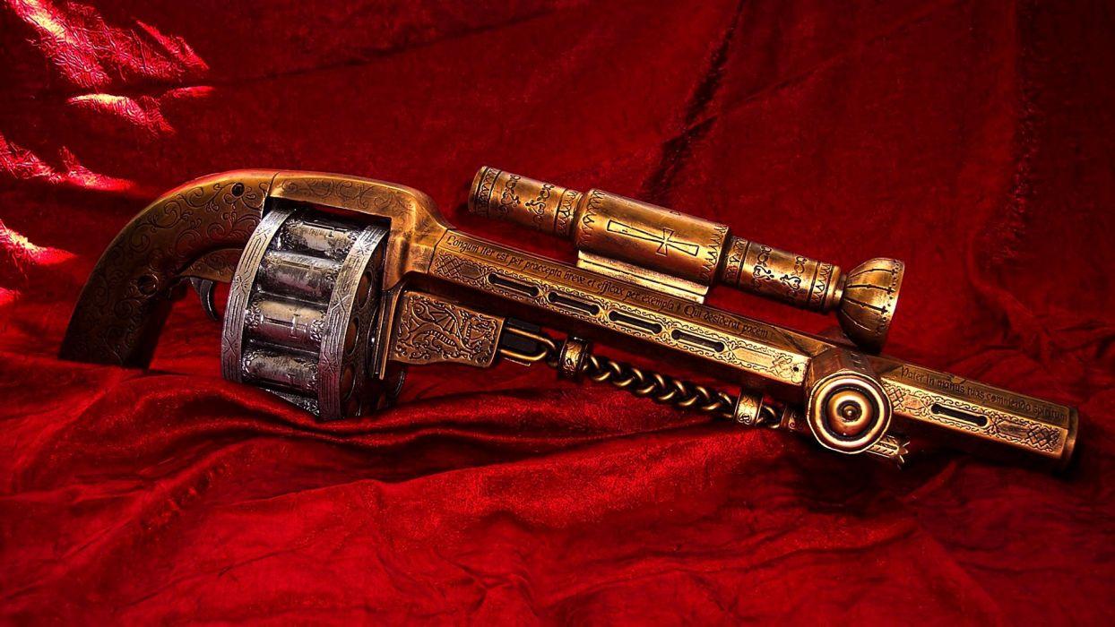 CONSTANTINE horror fantasy occult dark weapon gun sci-fi wallpaper