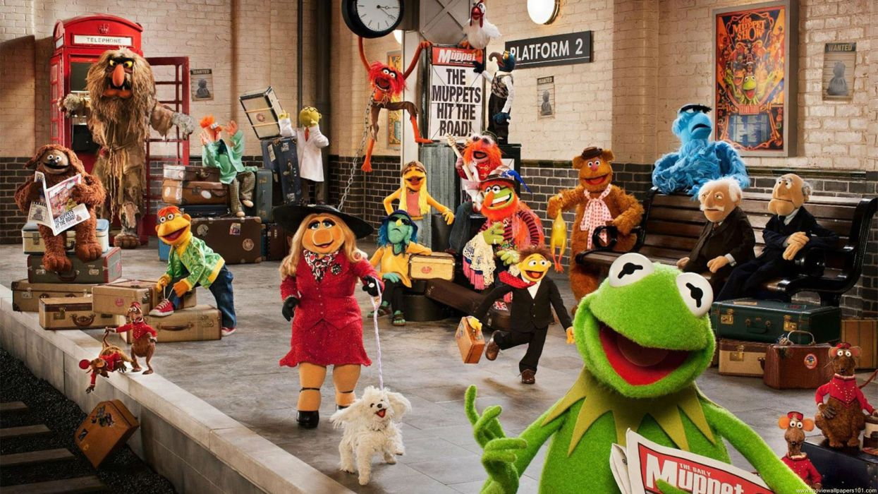 MUPPETS MOST WANTED adventure comedy crime puppet family disney wallpaper