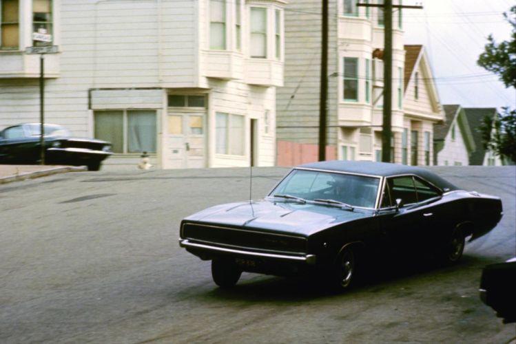 BULLITT action crime mystery movie film dodge charger muscle wallpaper