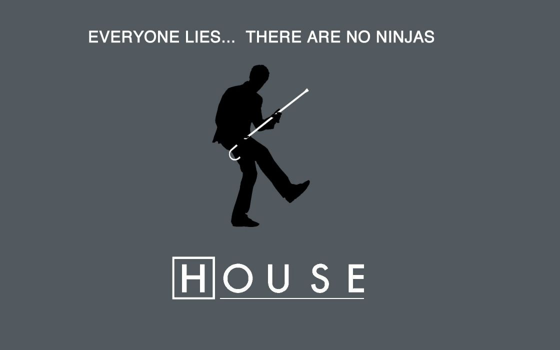 ninjas everybody lies Gregory House House M_D_ wallpaper