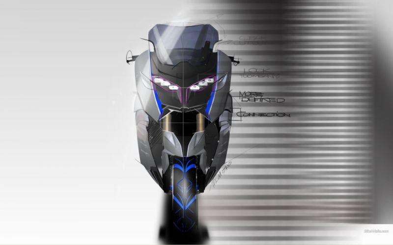 BMW studio concept art motorbikes wallpaper