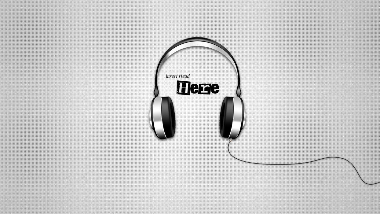 headphones wallpaper