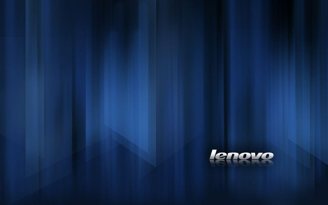 blue computers technology IBM computer technology brands logos Lenovo wallpaper