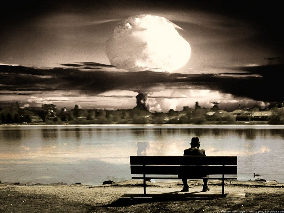 apocalypse the end nuclear explosions wallpaper