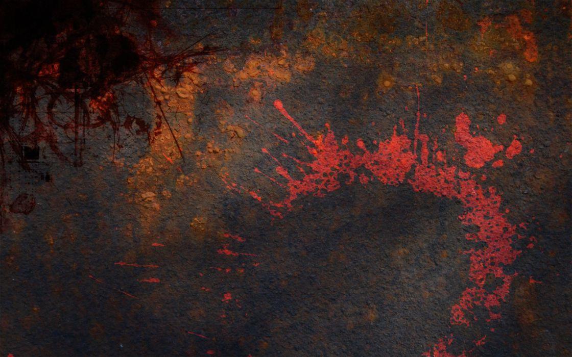 grunge metal paint splashes wallpaper