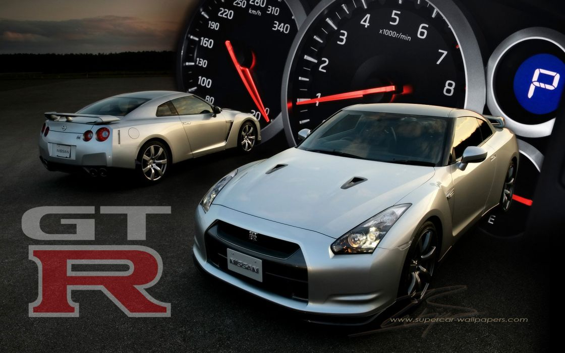 cars Nissan Nissan GT-R wallpaper