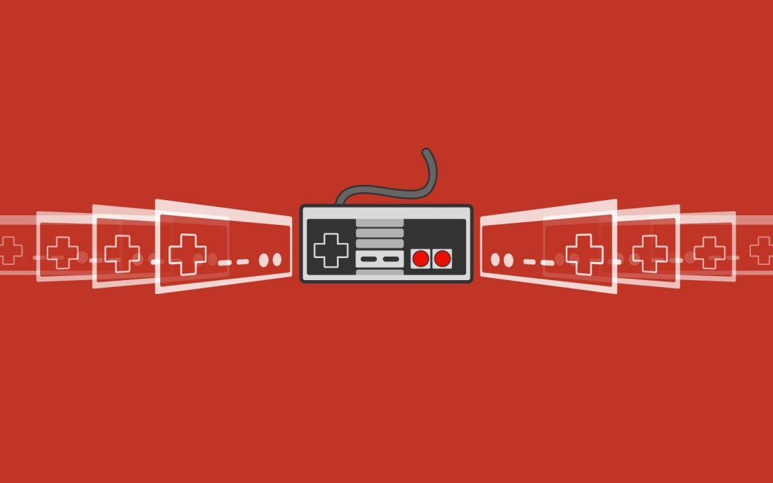 Nintendo video games gamepad Nintendo Entertainment System wallpaper