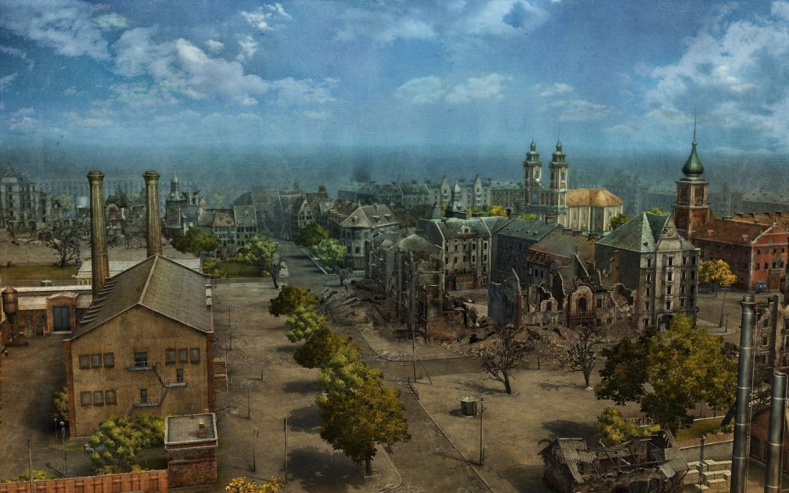 cityscapes Europe World of Tanks wallpaper
