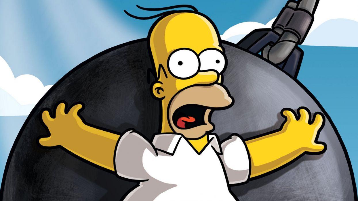 cartoons Homer Simpson The Simpsons TV series wallpaper