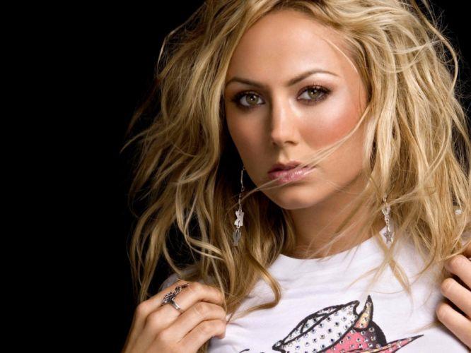 blondes women Stacy Keibler wallpaper
