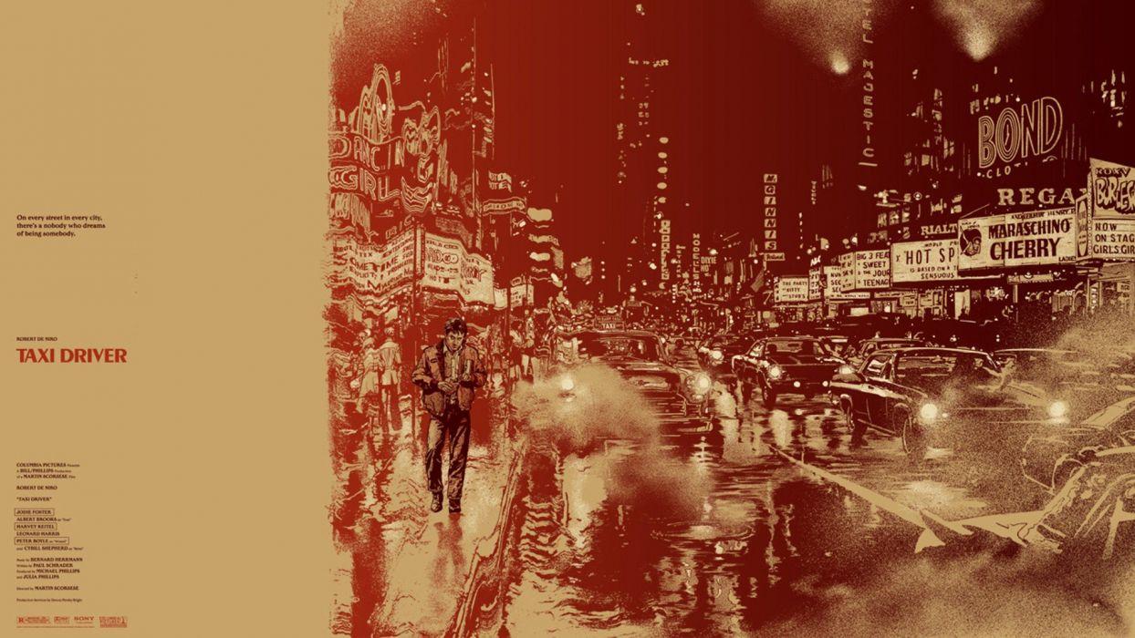 movies Taxi Driver Robert De Niro Martin Scorsese wallpaper
