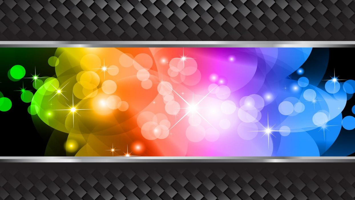pattern multicolor stars vectors Halo graphics wallpaper