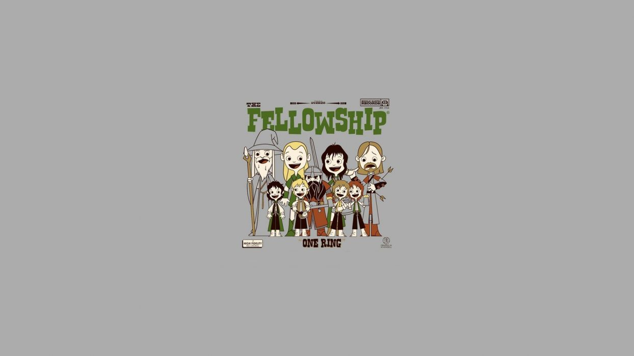 abstract minimalistic rings The Lord of the Rings solid simplistic simple The Fellowship of the Ring wallpaper