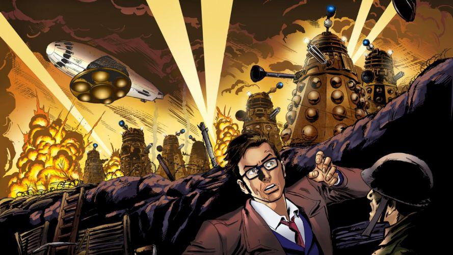 Dalek Doctor Who Tenth Doctor wallpaper