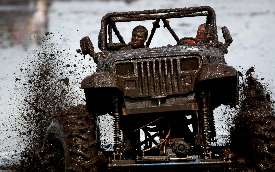 cars mud jeeps 4x4 wallpaper