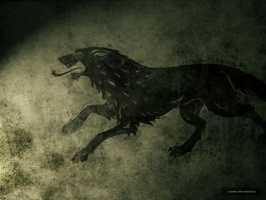Game of Thrones A Song of Ice and Fire sigil fan art HBO House Stark seven wallpaper