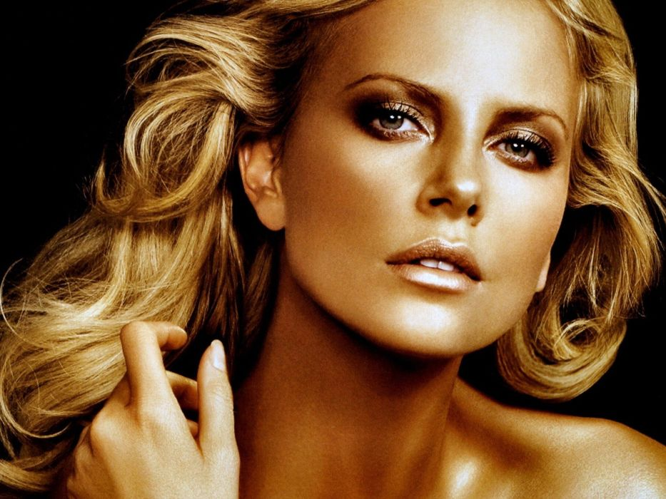 blondes women actress Charlize Theron wallpaper