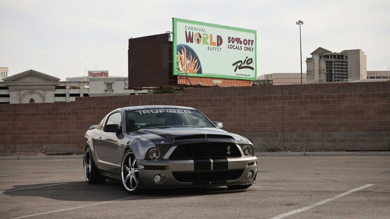 muscle cars Shelby Mustang widescreen Shelby GT500 wallpaper