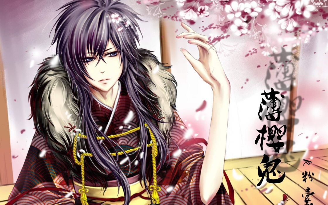 anime Japanese clothes wallpaper