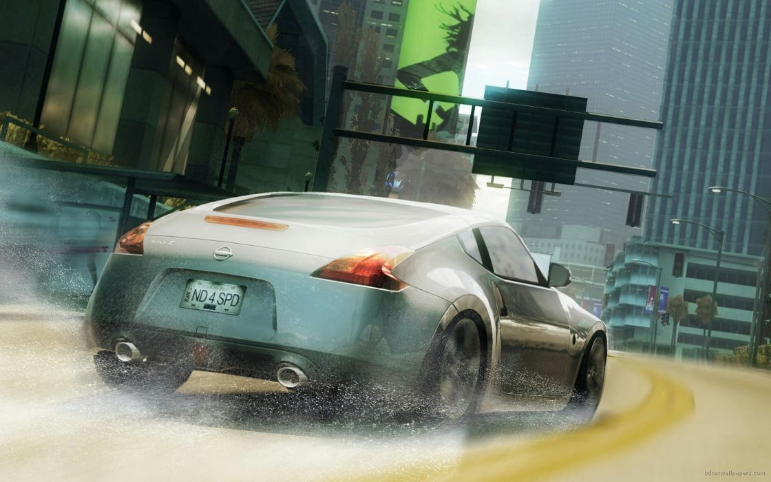 cars Nissan Need For Speed Undercover Nissan 370Z wallpaper