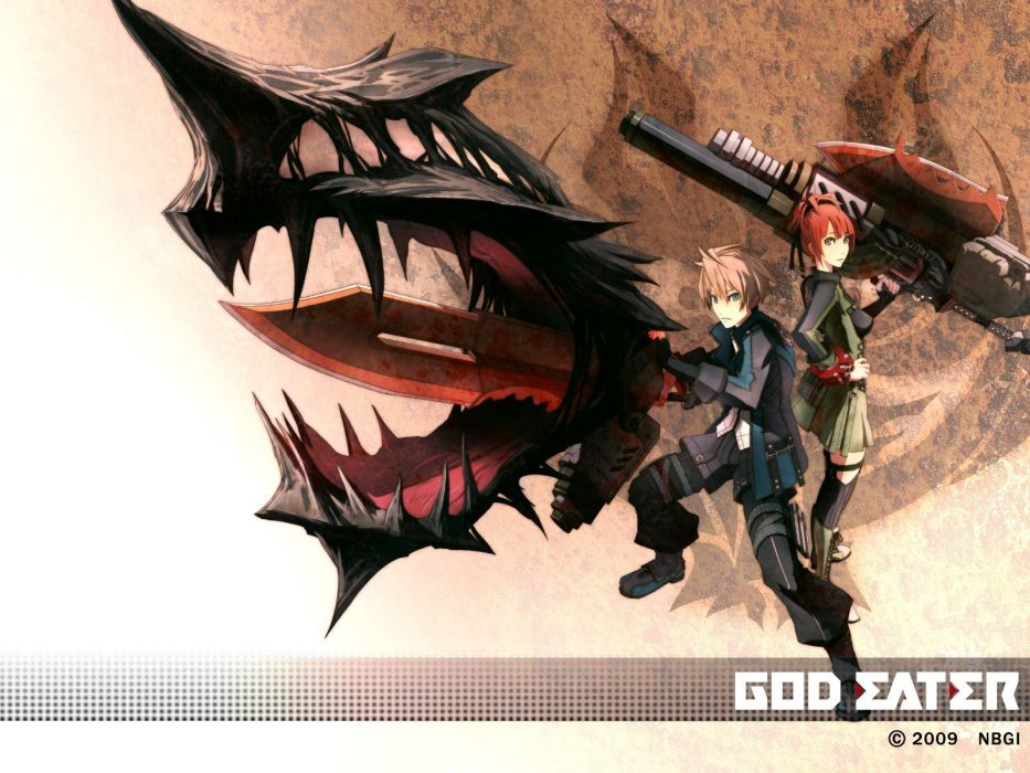 God Eater Burst wallpaper