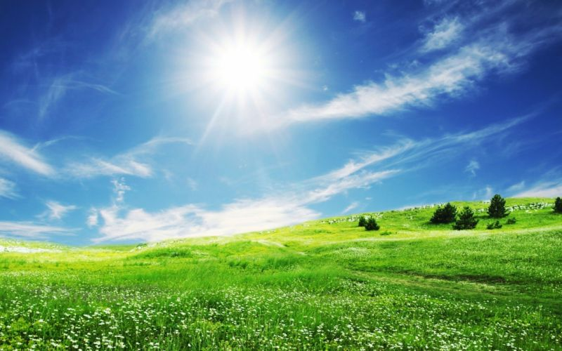 landscapes sunlight wallpaper
