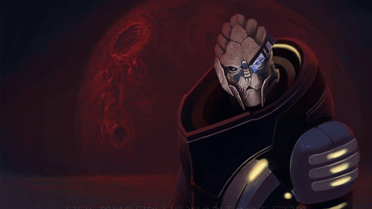 Video Games Mass Effect Science Fiction Garrus Vakarian Alien Turian