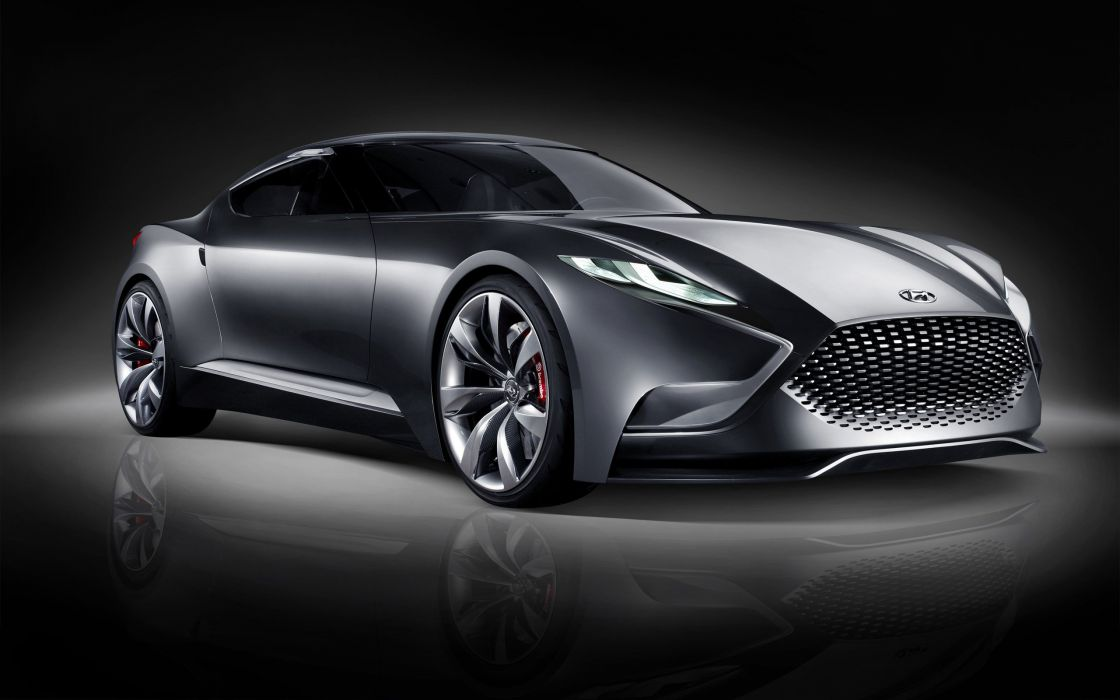 cars studio Hyundai hnd 9 concept  wallpaper