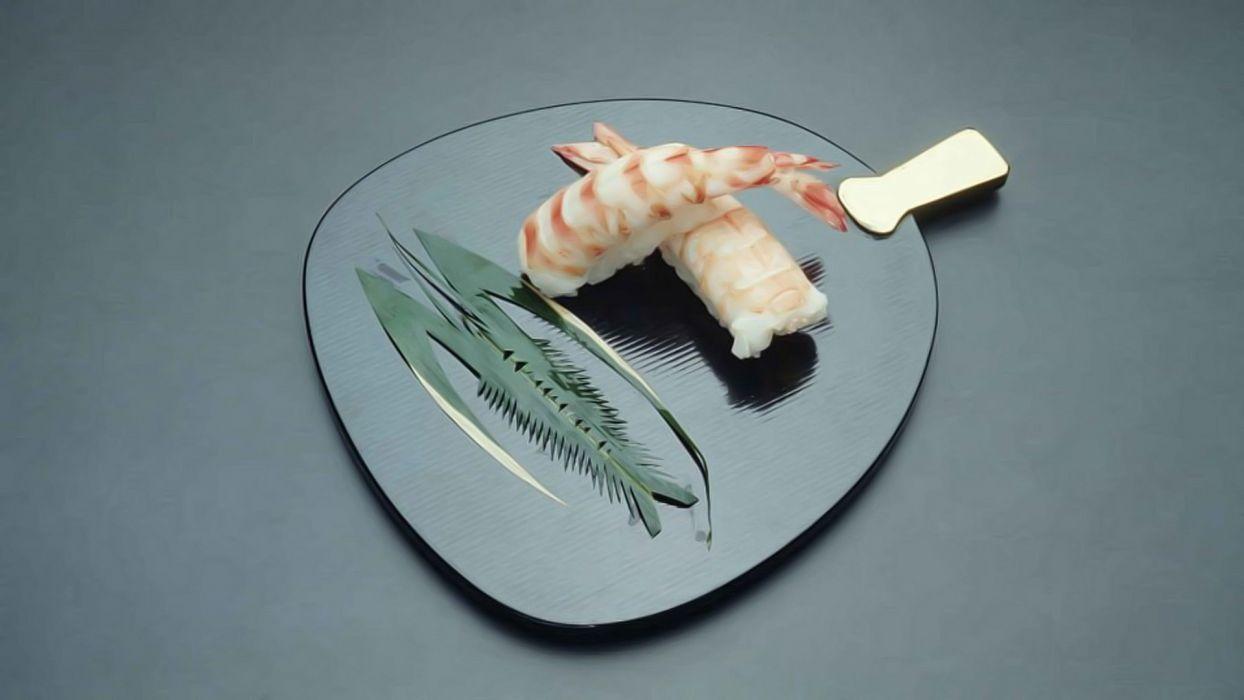 fish Japanese sushi wallpaper