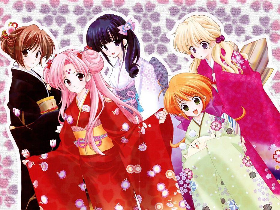 Girls Bravo Japanese clothes wallpaper