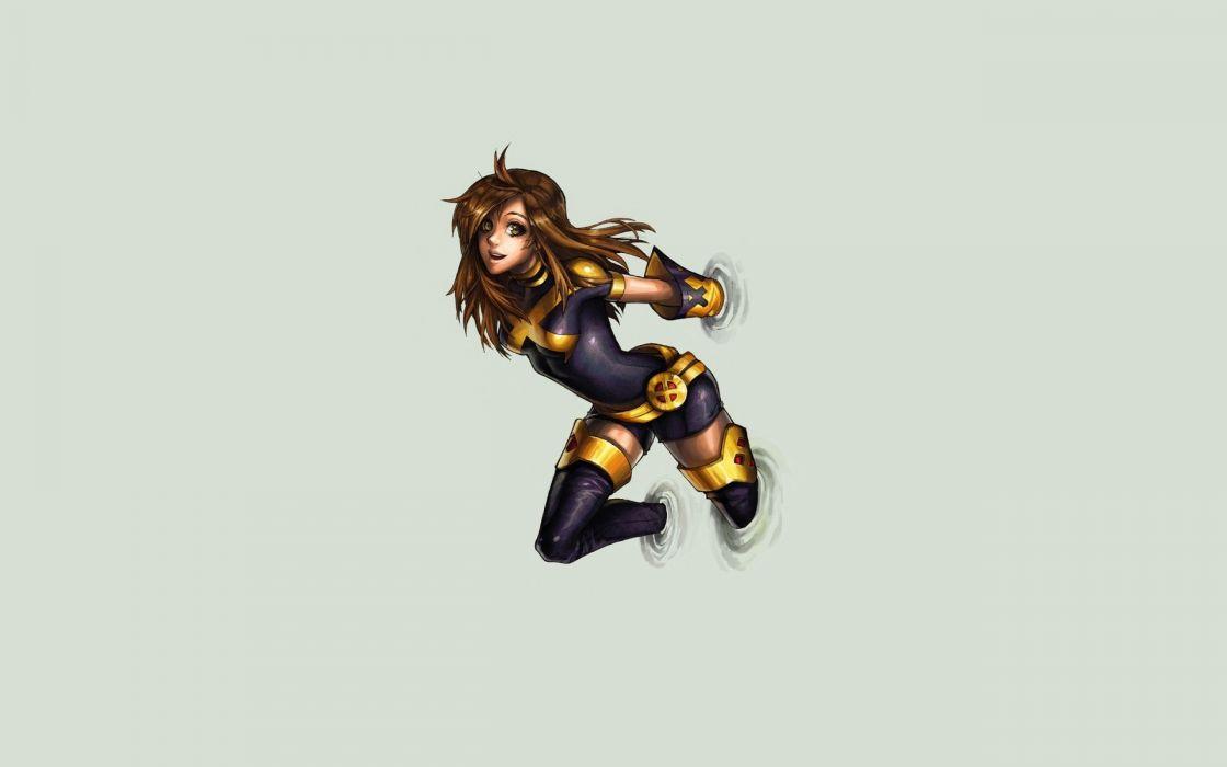 legs women X-Men brown eyes Marvel Comics Shadowcat Kitty Pryde wallpaper