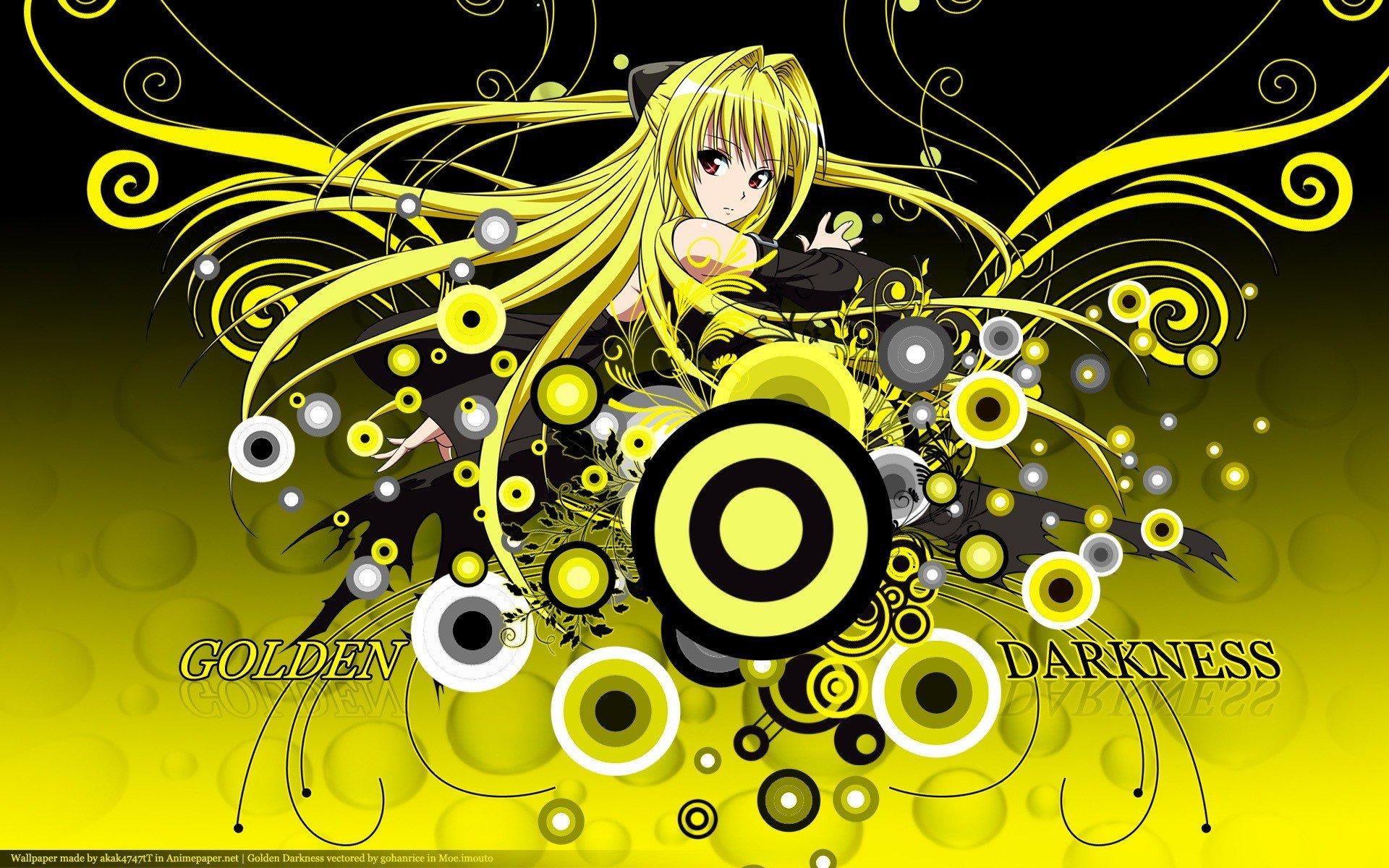 To Love Ru Golden Darkness Anime Manga Wallpaper 1920x1200