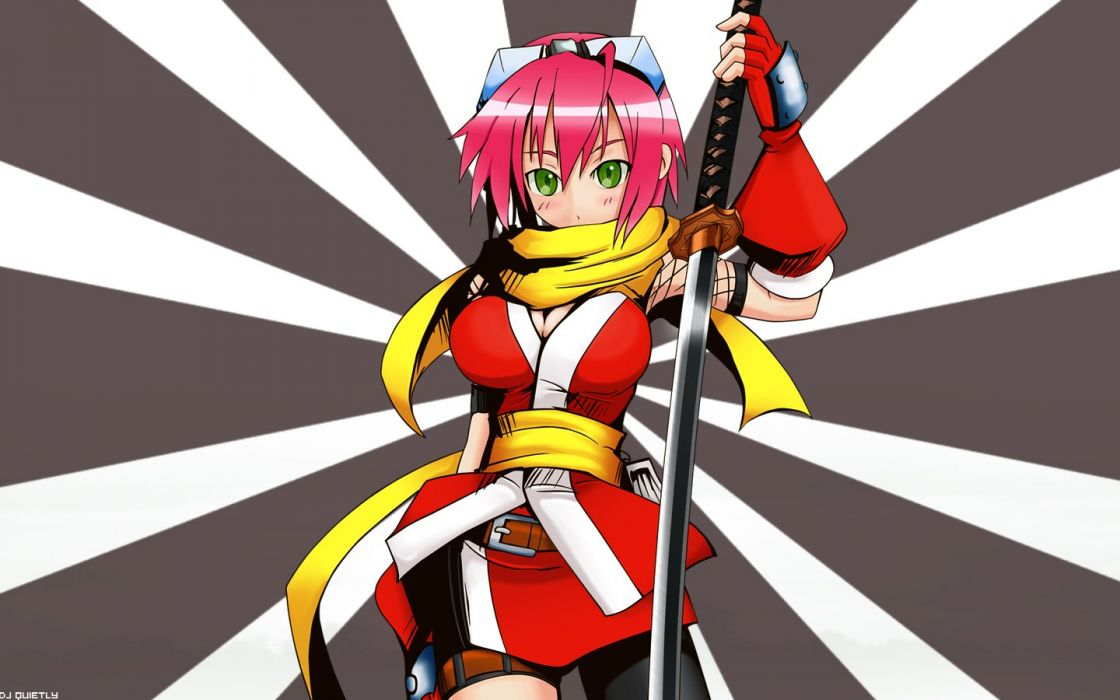 ninjas katana Izuna (Legend Of The Unemployed Ninja) Izuna: Legend of the Unemployed Ninja wallpaper