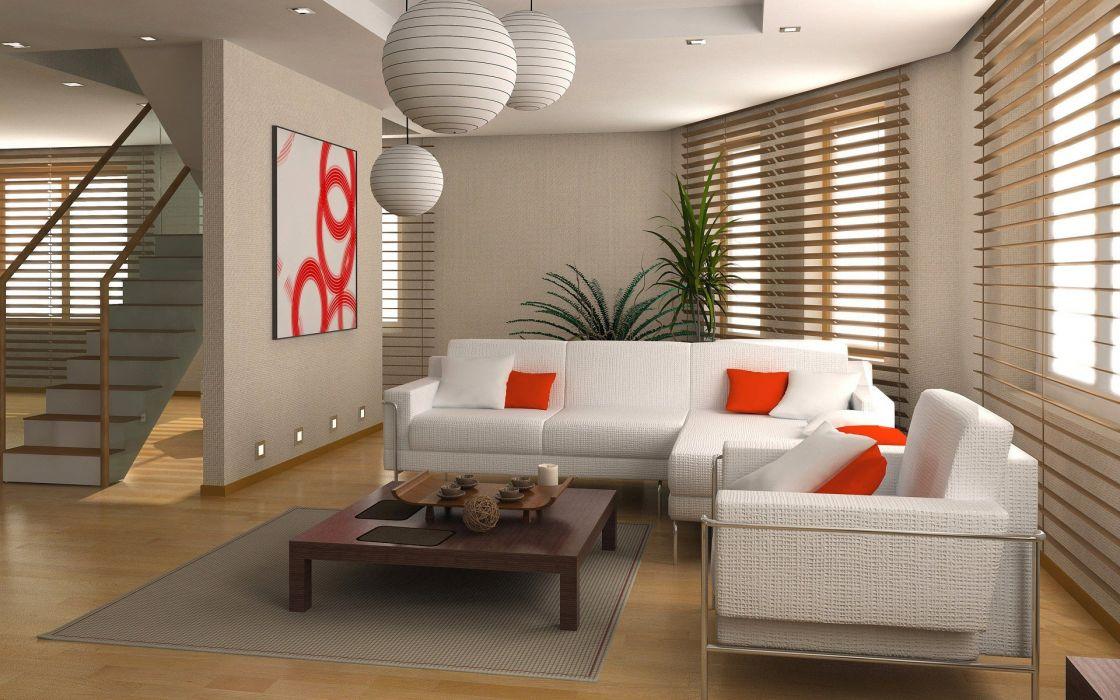 room interior wallpaper