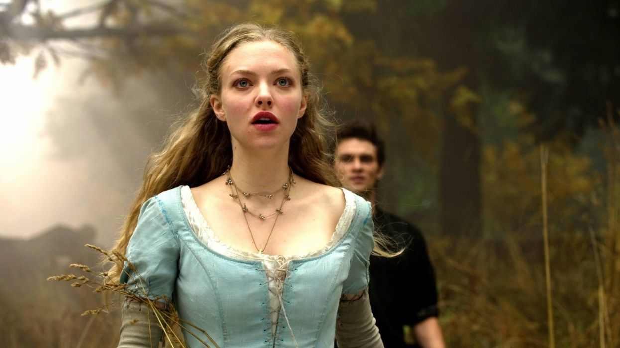 blondes women Amanda Seyfried Red Riding Hood (movie) wallpaper