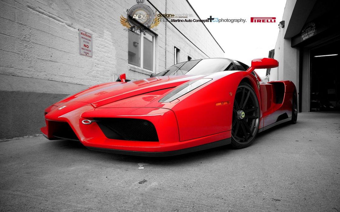 cars Ferrari Enzo wallpaper
