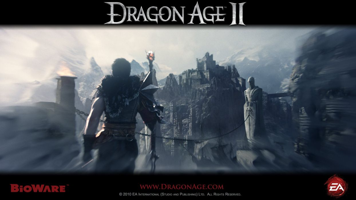 video games Dragon Age Dragon Age 2 wallpaper