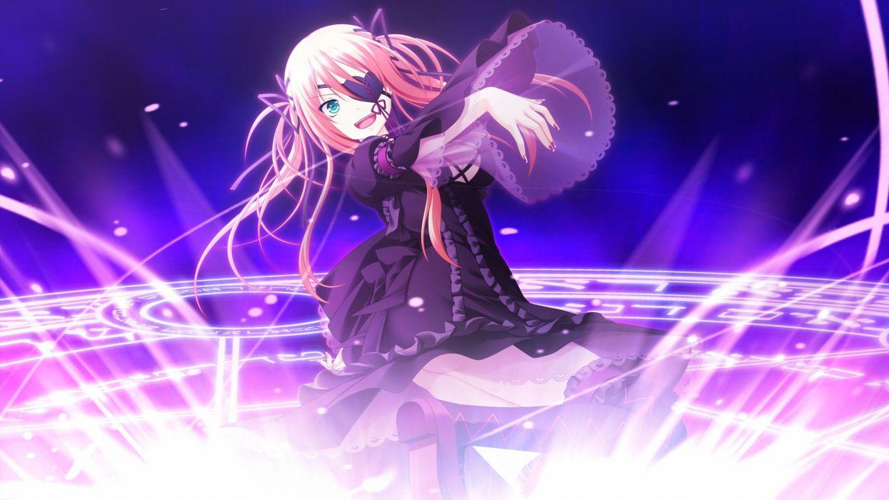 visual novels anime anime girls Shinigami no Testament Irina E_ Tolstaia wallpaper