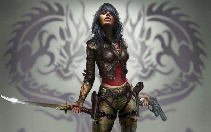 WET (Video Game) wallpaper