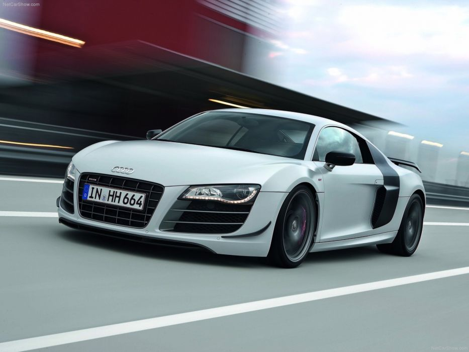 cars Audi Audi R8 white cars Audi R8 GT wallpaper