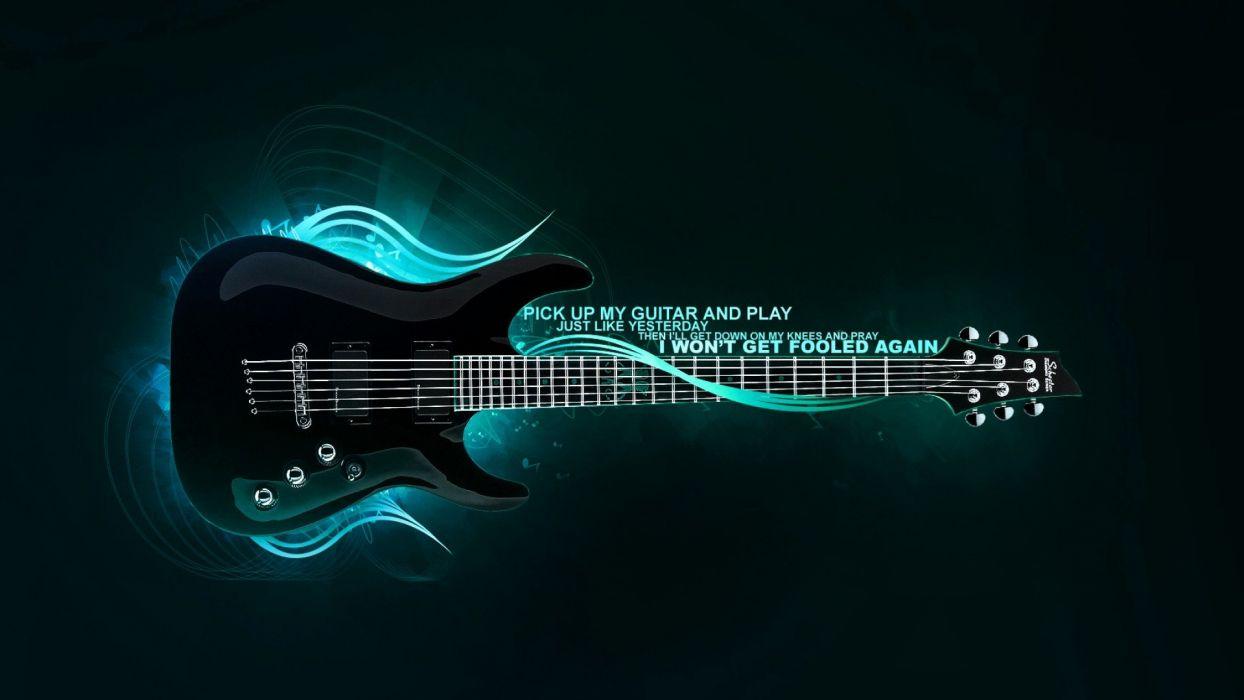 bass guitars wallpaper